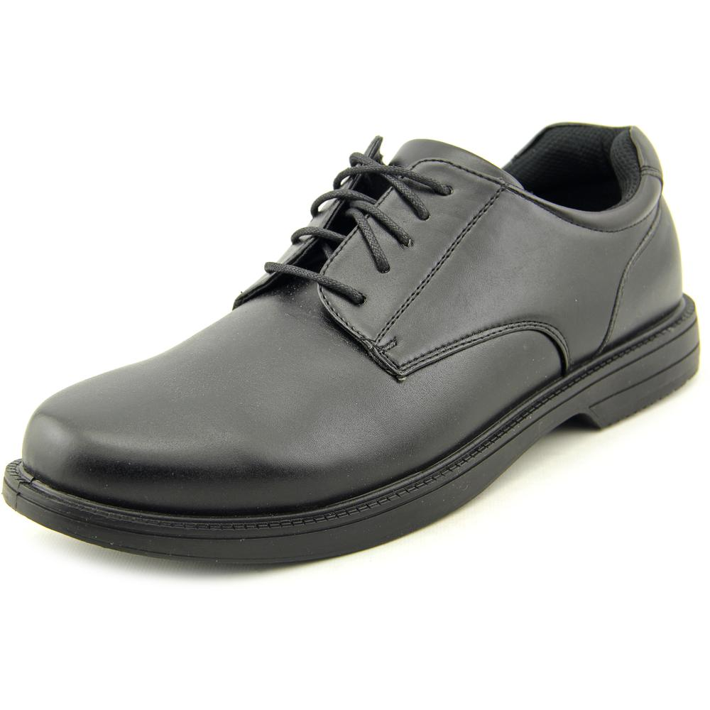Deer Stags Crown Men US 10 Black Work Shoe