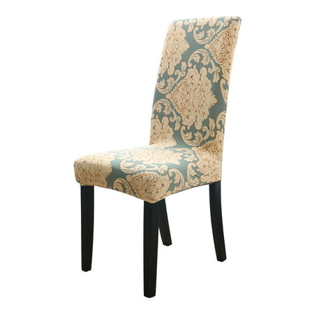 Stretch Spandex Dining Room Chair Covers Slipcovers, Printed Pattern