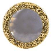 Dollhouse Brass Framed Round Mirror 2