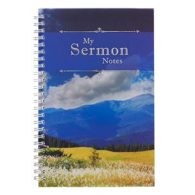 Notebook Wirebound My Sermon Notes (Mountains) (Other)