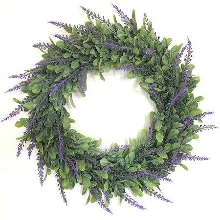Lifelike Artificial Wreath Flowers Door Hanging Wall Window Decoration Wedding Party Christmas Decor 15.7