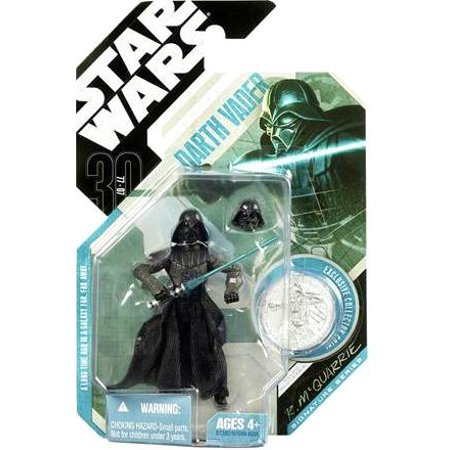 - Star Wars 30th Anniversary -#28 Concept Darth Vader McQuarrie Hasbro Collector Collectible Action Figure Star Wars