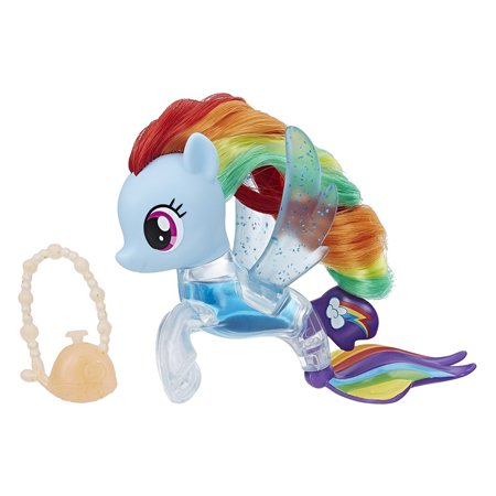 My Little Pony the Movie Rainbow Dash Flip & Flow Seapony Figure - Rainbow Dash Toys