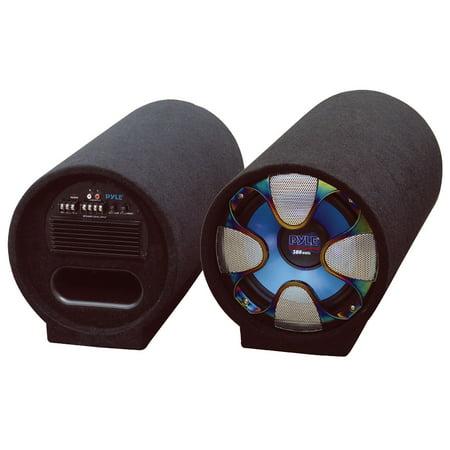 PYLE PLTAB8 - 8-Inch 250 Watt Amplified Subwoofer Tube