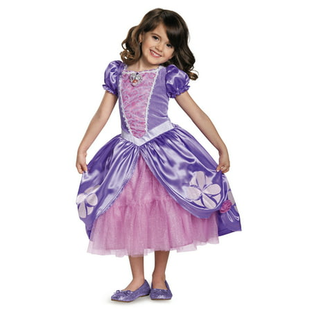 Deluxe Girls Sofia The First Next Chapter Dress - image 1 de 2