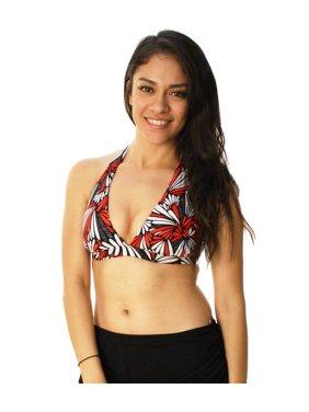 5f9211d10bccd Product Image Captiva Women's Flower Pattern Bikini Halter Top