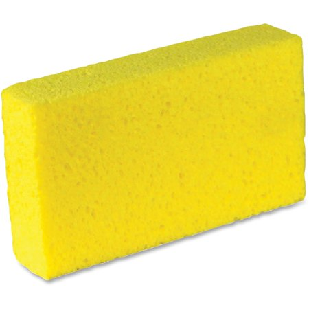 Impact Products, IMP7180P, Large Cellulose Sponges, 6 / Pack, Yellow