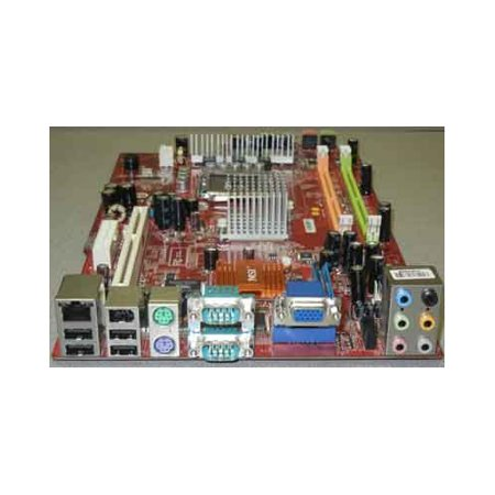 Refurbished-Microstar / MSIMS-7407motherboard used in MSI Hetis G31 (MS-6470) Ver: 1.0. MS-7407. On-Board six channel audio, video, 2 x serial ports, LAN, USB, Firewire. ()