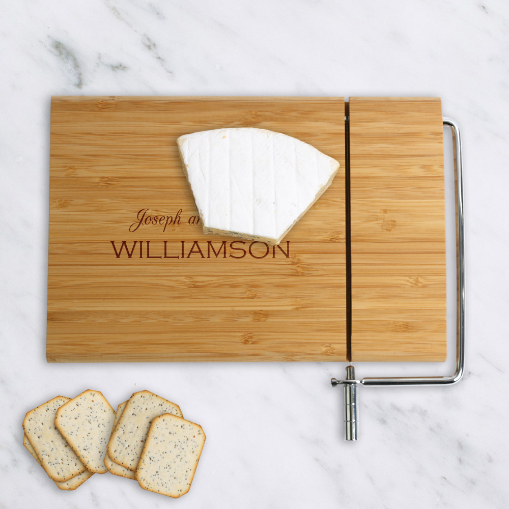 Custom Williamson Wood Cheese Cutting Board