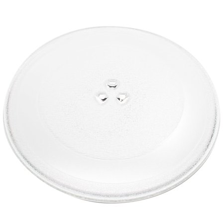 """Replacement General Electric / G.E. JNM1541DM1WW Microwave Glass Plate - Compatible General Electric / G.E. WB49X10129 Microwave Glass Turntable Tray - 12 3/4"""" (325mm) - image 2 de 3"""