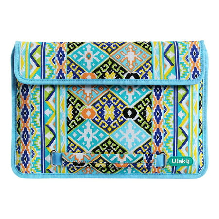Ulak Universal 11 To 12 1 Inch Sleeve Bag  Portable Canvas Tablet Protective Carrying Case Bag For 11 6  Apple Macbook Air  The New Macbook 12 Inch 2015 Release  Tribal