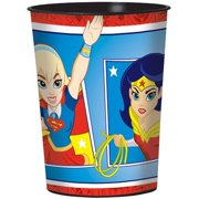DC Super Hero Girls Plastic Cup, 16 oz by Generic
