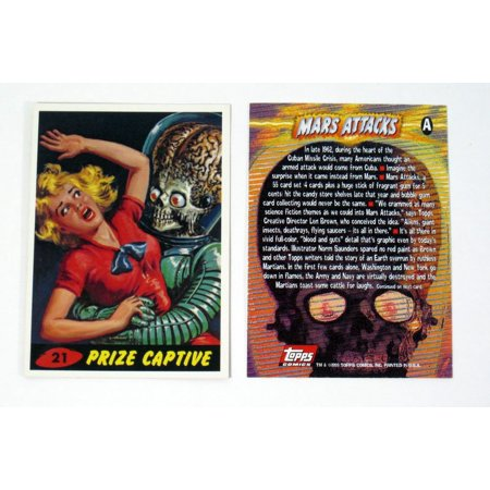 1994 Topps Archives Mars Attacks Archives Promo Card (A) Nm/Mt