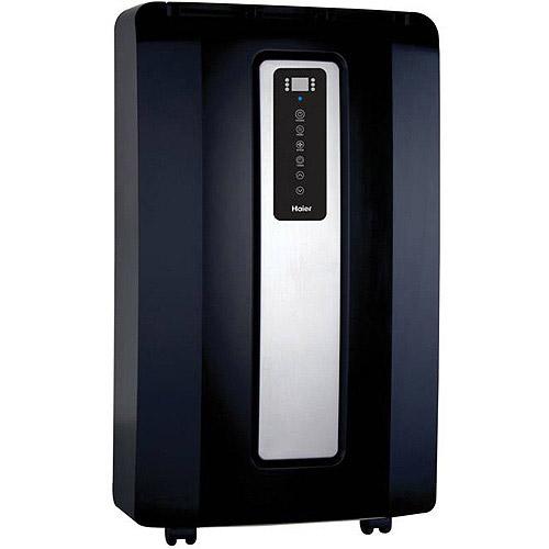 Haier HPF12XCM-LB 12,000-BTU Portable Air Conditioner, Black
