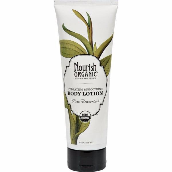 Nourish Organic Body Lotion Pure Unscented - 8 Fl Oz