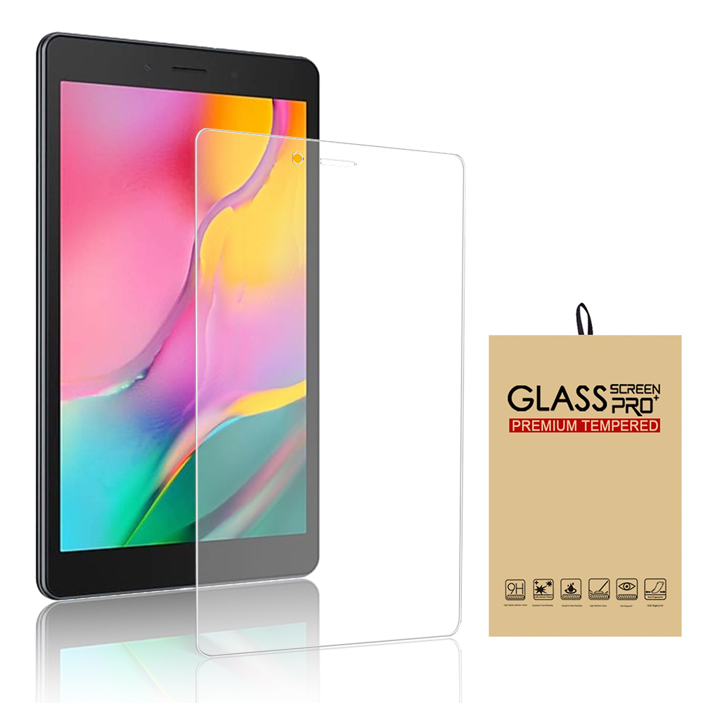2019 2X Tempered Glass Screen Protector for Samsung Galaxy Tab A 8.0 SM-T290