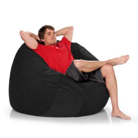 Jaxx Game Sac -  XL Microsuede Foam Bag Chair