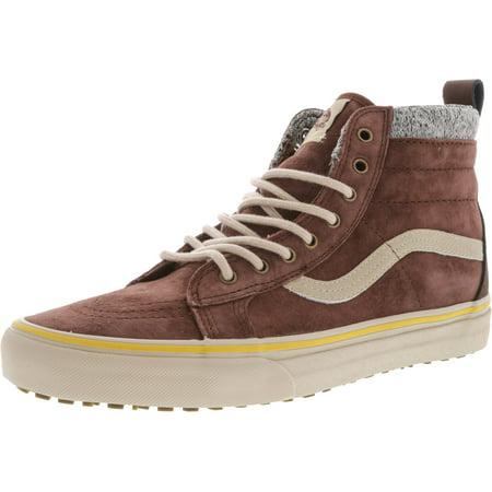 236e1175d7c Vans - Vans Sk8-Hi Mte Dx Cappuccino   Hummus Ankle-High Suede  Skateboarding Shoe - 10M 8.5M - Walmart.com