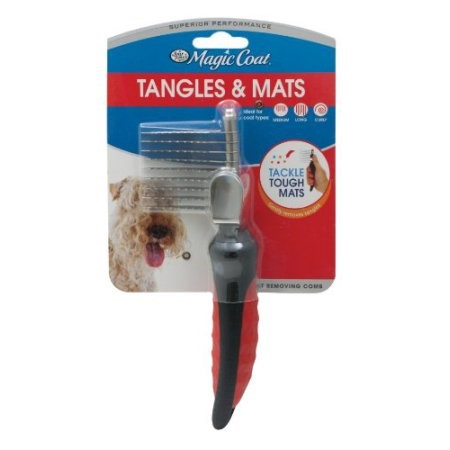 Four Paws Magic Coat Adjustable Tangle & Mat Breaker with Blade