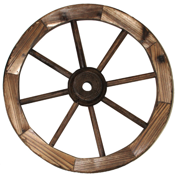 Leigh Country Eighteen Inch Decorative Wagon Wheel