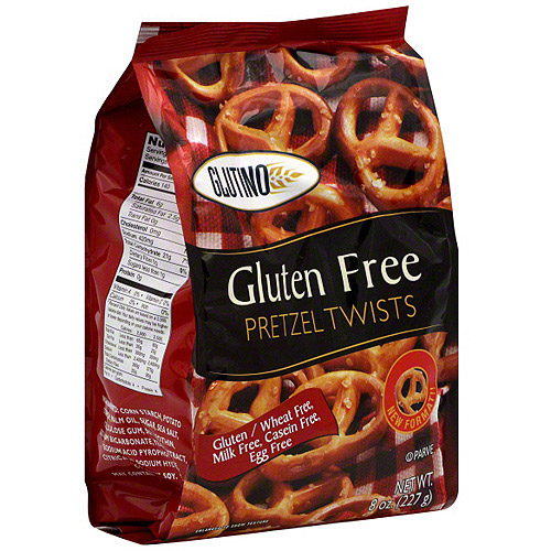 Glutino Pretzel Twists, 8 oz (Pack of 12)