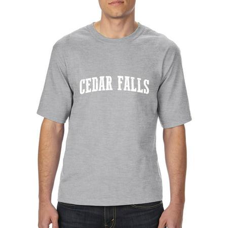 Cedar falls iowa t shirt home of university of iowa and ui for University of iowa shirts