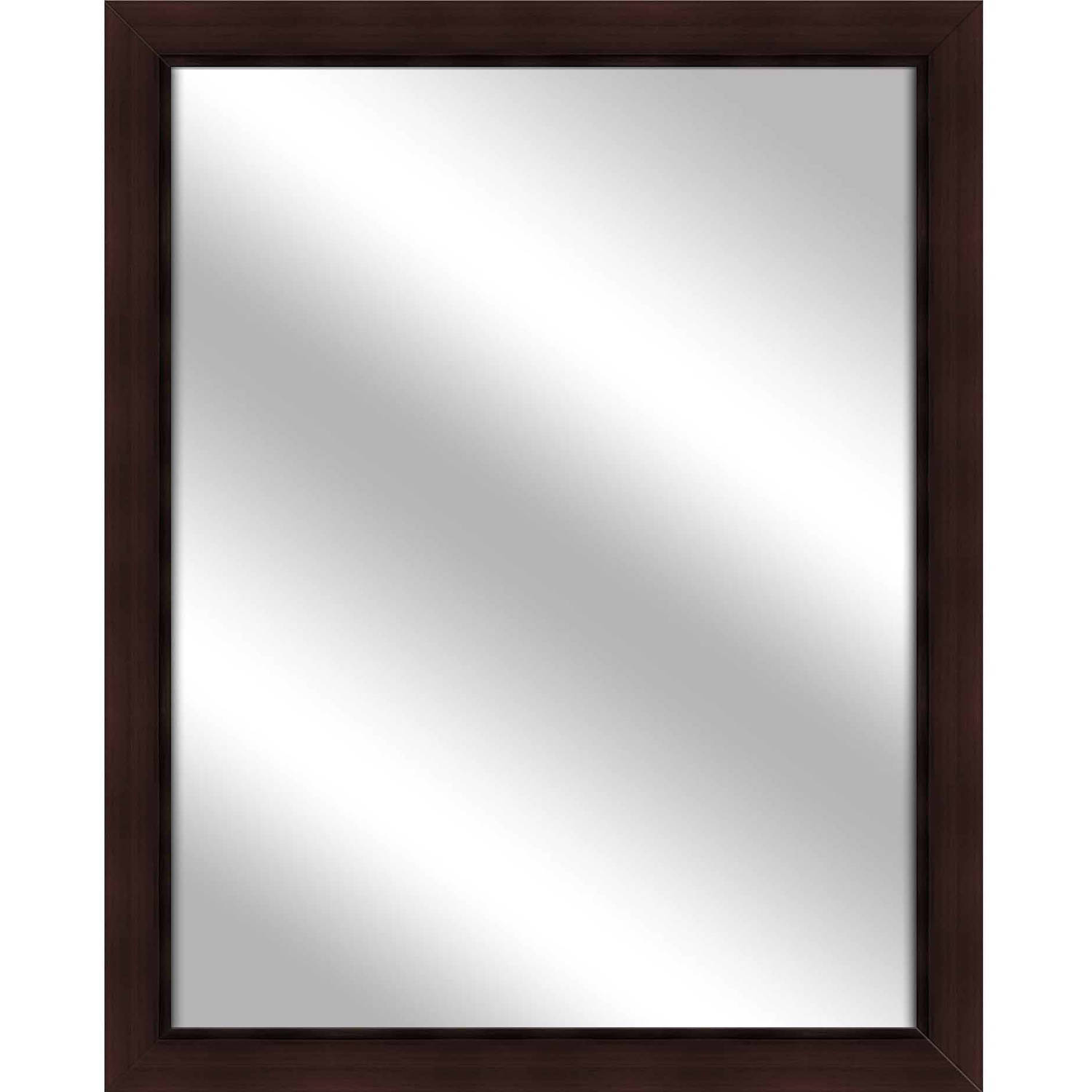 Vanity Mirror, Brown, 24.75x30.75 by PTM Images