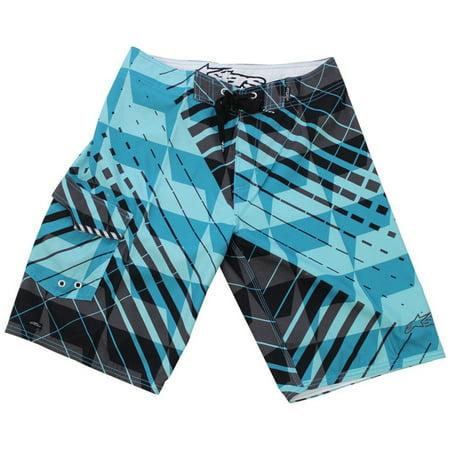 Image of Alpinestars Men's Heavyweight Boardshorts, Azure Blue