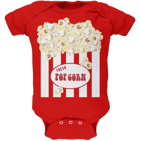 Halloween Popcorn Costume Soft Baby One Piece](Baby Halloween Accessories Uk)