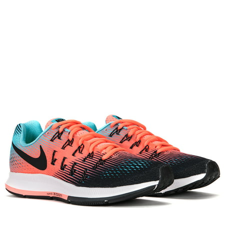 Nike Women's Air Zoom Pegasus 33 Running Shoes 831356-005 Black/Lava Glow