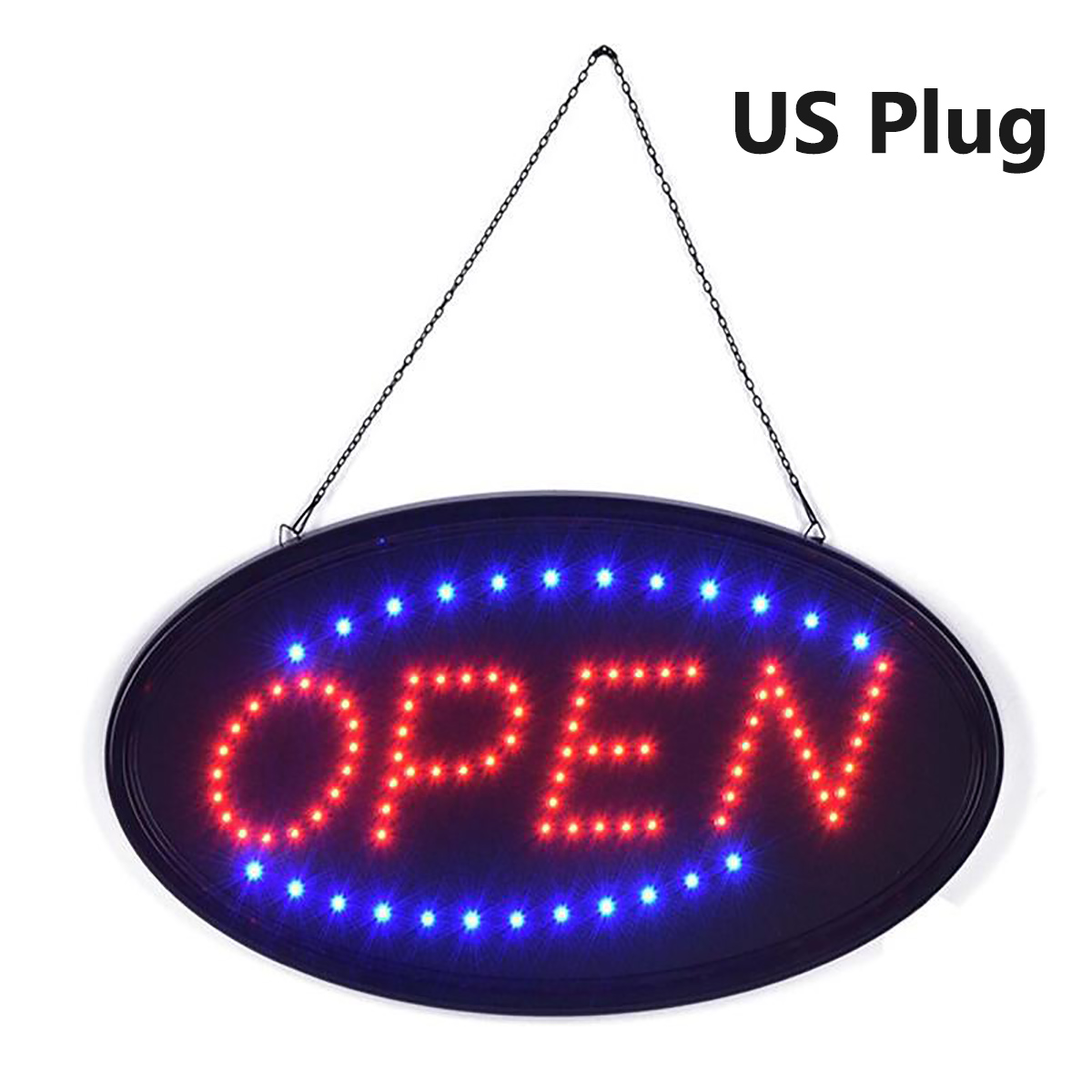 On//Off with Chain Shop Display Bar Led Neon Motion Light Sign Details about  /LED Bar Sign