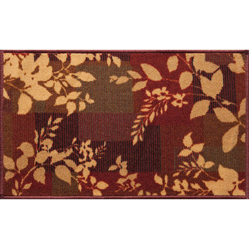 Click here to buy Mainstays October Accent Rug, Brown by Generic.