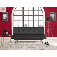Serta Cannes Luxury Convertible Sofa Futon