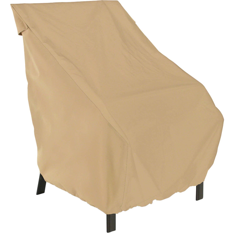 Classic Accessories Terrazzo Patio Chair Furniture Storage Cover, Standard, Sand by Classic Accessories