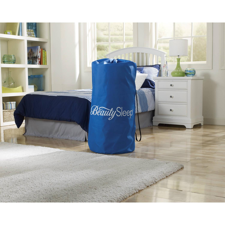 Simmons Beautysleep Siesta Twin Memory Foam Guest Roll Up Extra Portable Mattress Bed