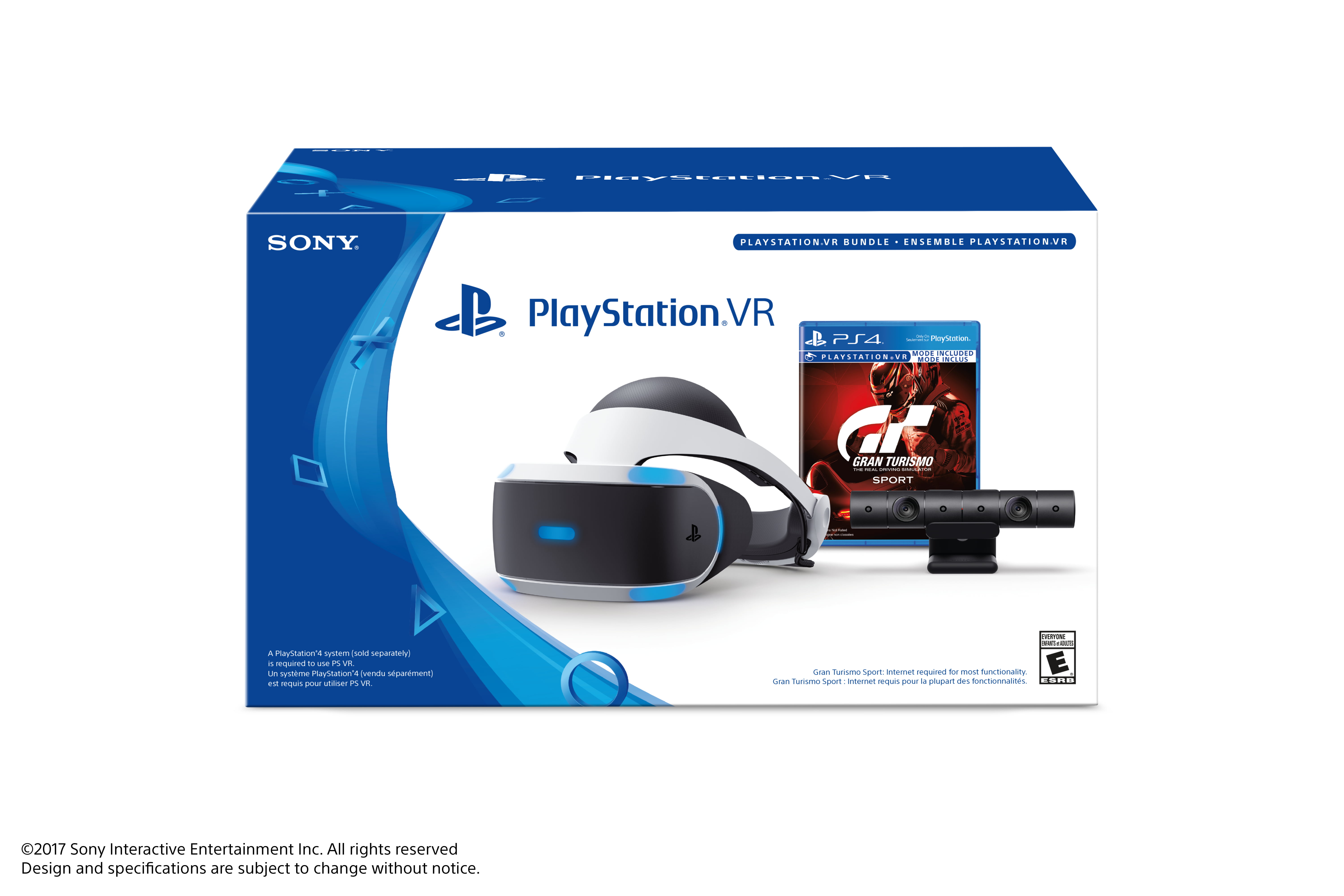 Sony PlayStation VR with Gran Turismo Sport and Camera (PlayStation VR) by PlayStation