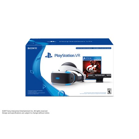 Sony Playstation Vr Gran Turismo Sport And Camera Bundle  3002810