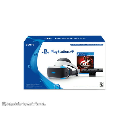 Sony PlayStation VR Gran Turismo Sport and Camera Bundle, 3002810