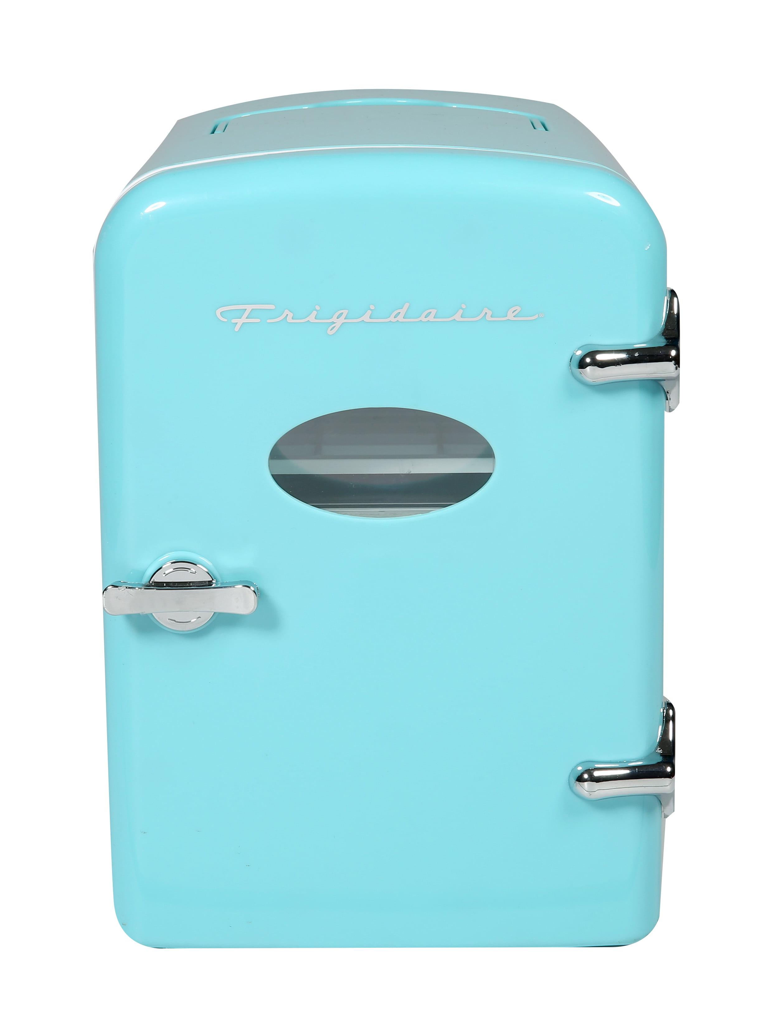 Frigidaire Portable Retro Extra Large 9-Can Mini Fridge EFMIS175, Blue