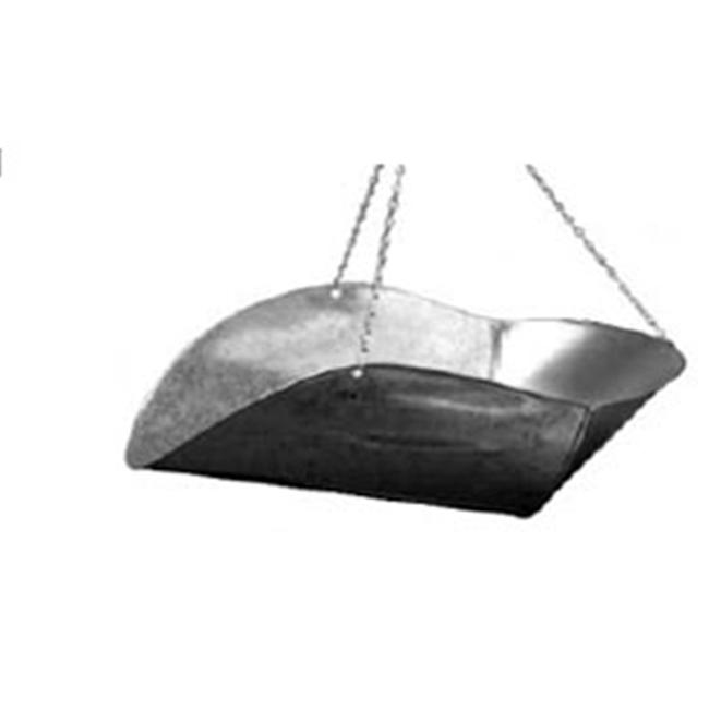 Penn Scale 820 V Vegetable Scoops - Galvanized Steel