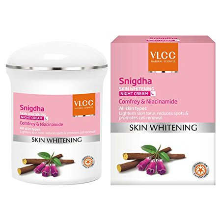 VLCC Snigdha Skin Whitening Night Cream, 50g (Best Skin Whitening Products In India)