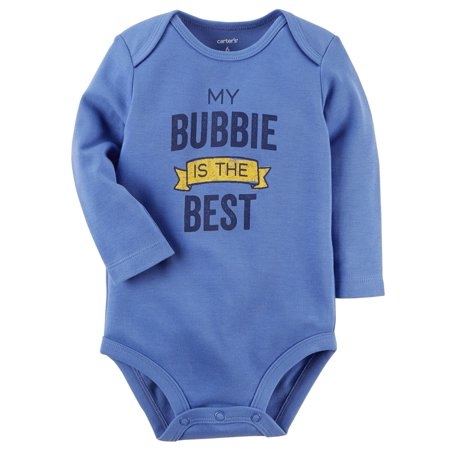 Carter's Baby My Bubbie Is The Best Collectible Bodysuit, 9