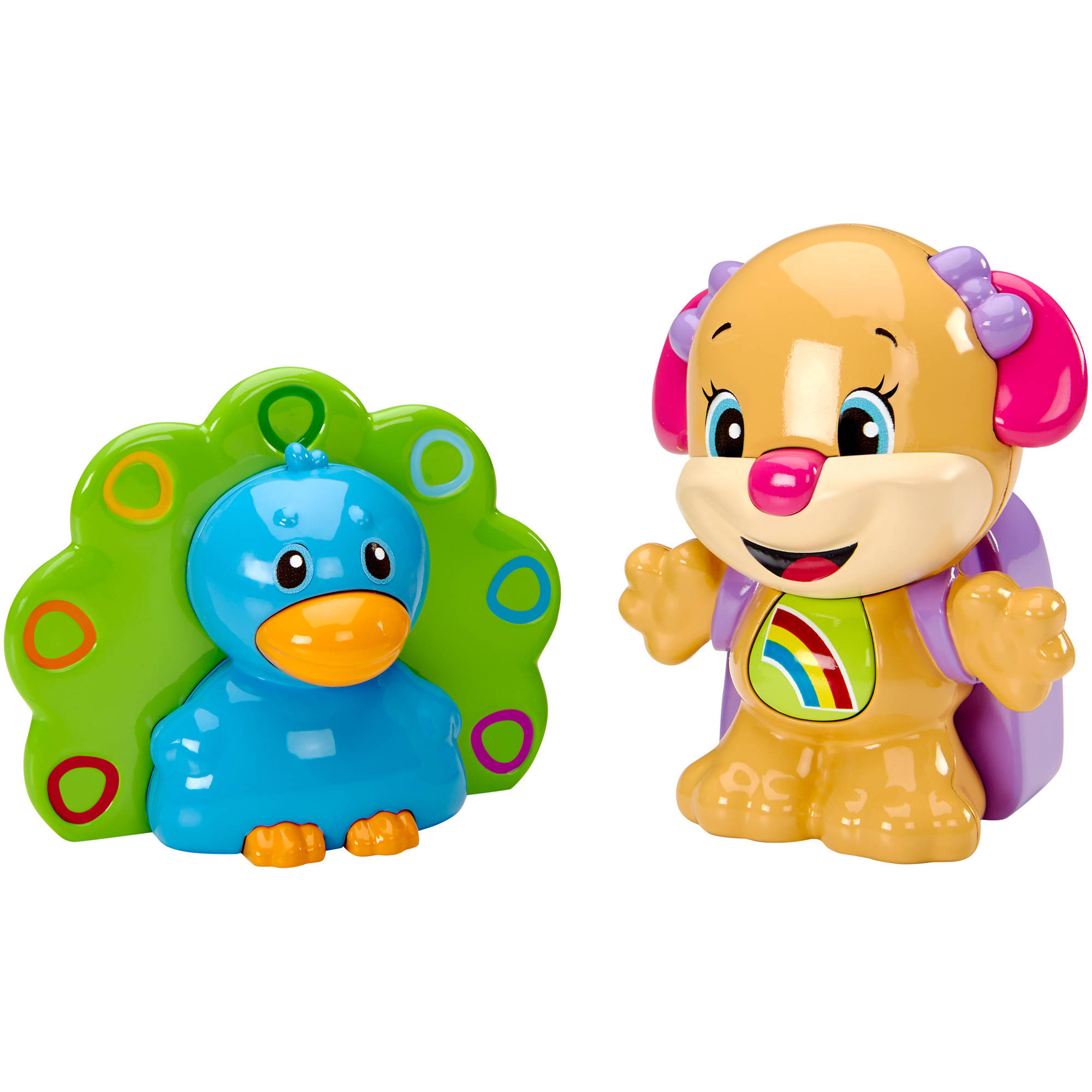 Fisher-Price Laugh and Learn Talk 'n Teach Sis and Peacock