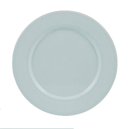 Maryland Plastics CC10000 PEC 10.25 in. Concord Dinner Plate, White