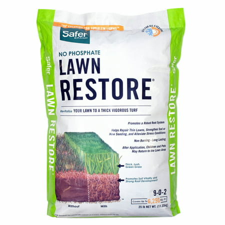Safer Lawn Restore 6,250 Sq Ft Fertilizer