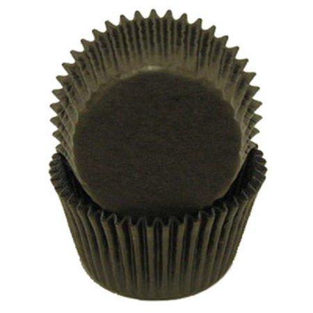 Black Cupcake Liners - 500 Count - National Cake - Black Cupcake Liners