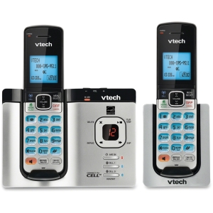 VTech 2 Handset Connect to Cell Phone System with Caller ID/Call Waiting