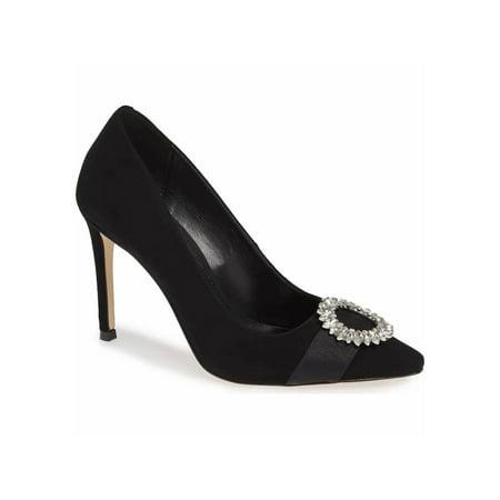 Womens Viola (Michael Michael Kors Womens Viola Pump Leather Pointed Toe Classic Pumps)