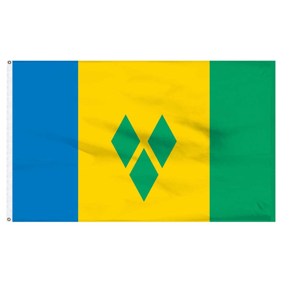 St. Vincent and the Grenadines 3ft x 5ft Nylon Flag