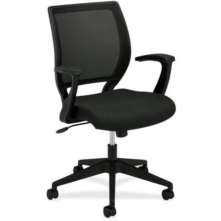 Basyx VL Series MidBack Work Chair Mesh Back Fabric Seat - Work chair